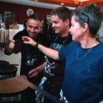 Formation crêpier Le Roïc: Mehmet, Nathalie et Gilles (France)
