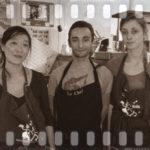Formation crêpier Le Roïc: Jessica, Nathalie et Quentin (France)