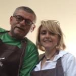 Valérie, Gilles (Corse) en formation crêpier chez Le Roïc